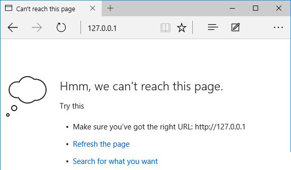 How to Fix Hmm, we can't reach this page error in Microsoft