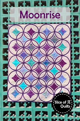 Moonrise quilt pattern by Slice of Pi Quilts