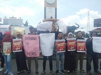 Jurnalis Lampung Tuntut Presiden Cabut Remisi Pembunuh Jurnalis