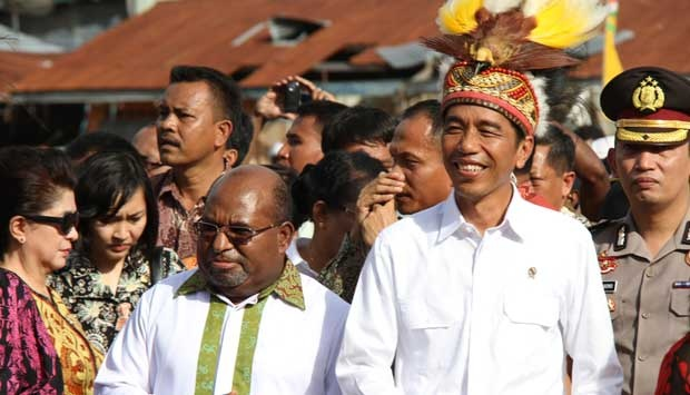 Hamburkan Dana APBD, Komnas HAM Nilai Kunjungan Jokowi ke Papua Sia-sia Belaka