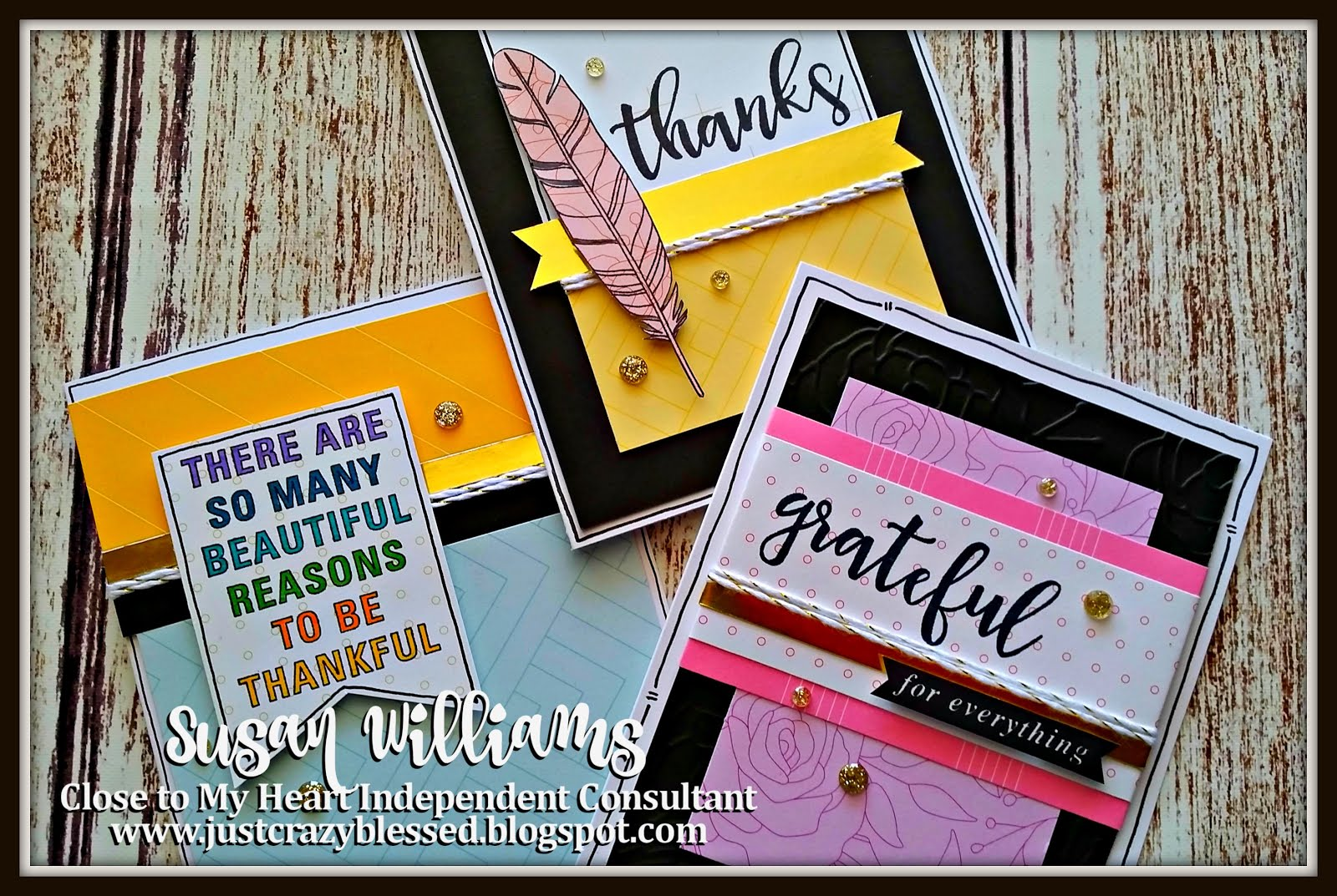 September Stamp of the Month Card Kit!