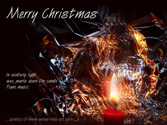 Miniprint mixed media enter into art christmas video christmas card with poem for free download m4hsunfo