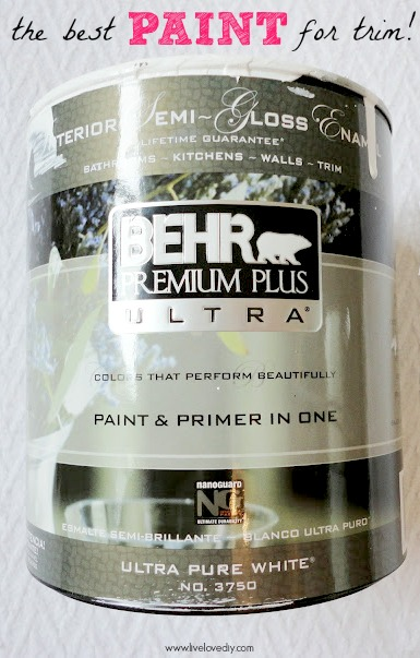 Behr Trim Paint : paint, LiveLoveDIY:, Painting, Walls:, Know!