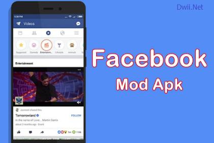 Facebook Mod Apk No Ads (v 191) & FB Mod Massanger Apk Terbaru