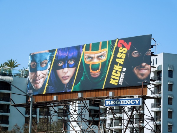 Kick-Ass 2 movie billboard