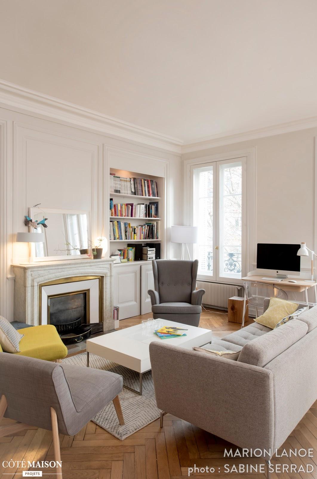 Blog wn trzarski design nowoczesne projekty wn trz stylowe francuskie mieszkanie w starym for Cuisine maison bourgeoise