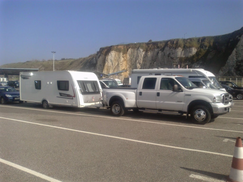 Caravan delivery service, UK Spain