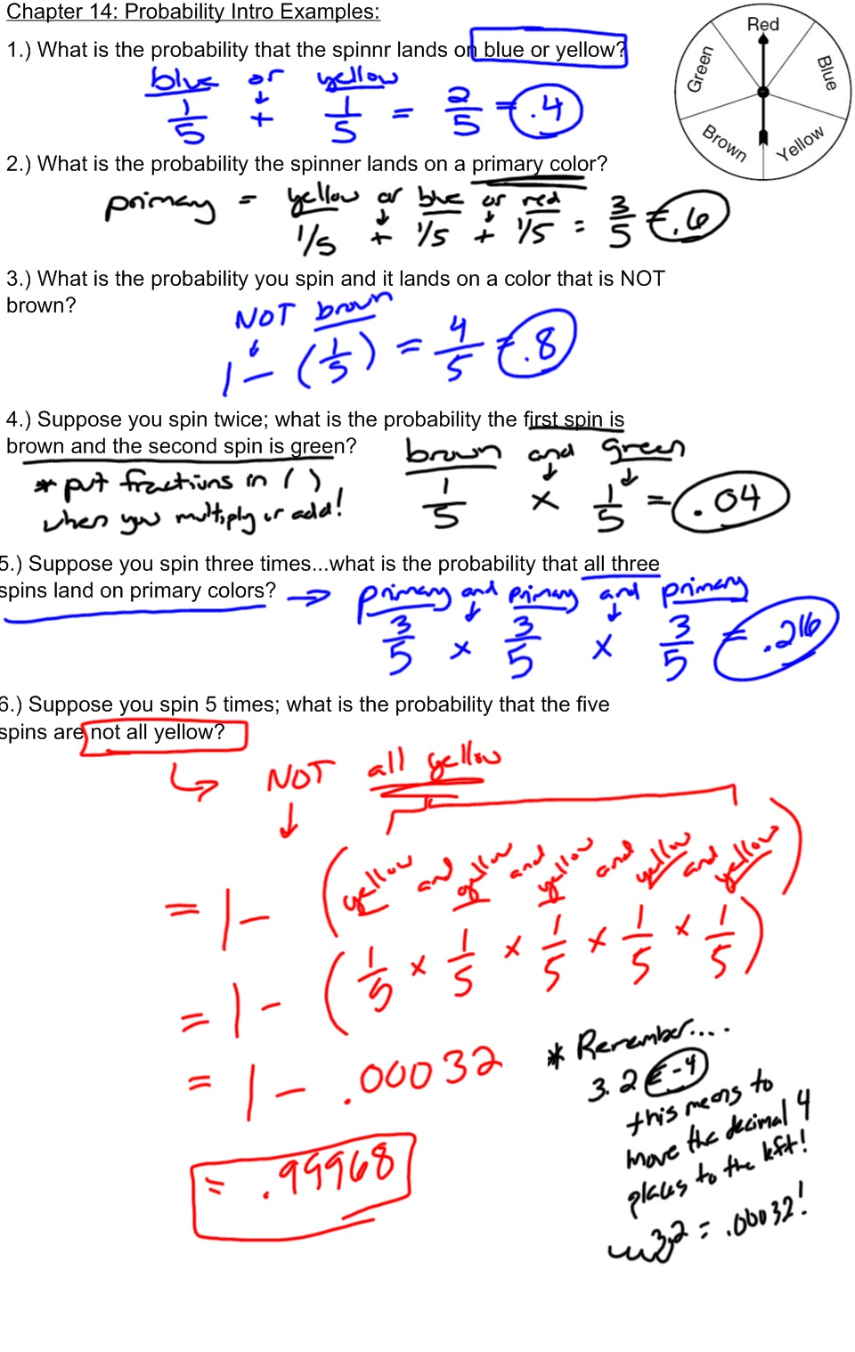 Probability and statistics help