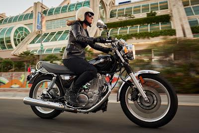 2016 Yamaha SR400 ride