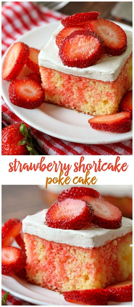 Strawberry Shortcake Cake Recipe