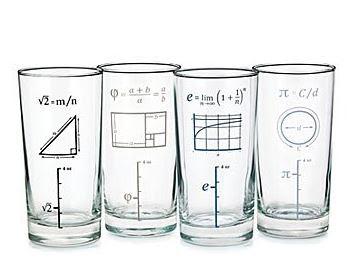 Gambar Model Desain Gelas Kaca Keren Formula Matematika