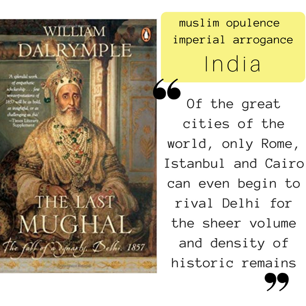 The Last Mughal: Exploring India through Books, Book club Discussion Questions, Globetrotting Mom
