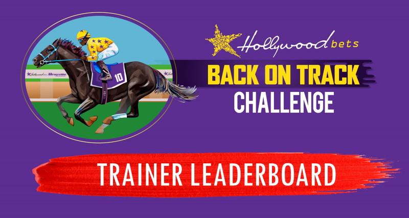 TRAINER LEADERBOARD - Hollywoodbets Back On Track Challenge logo