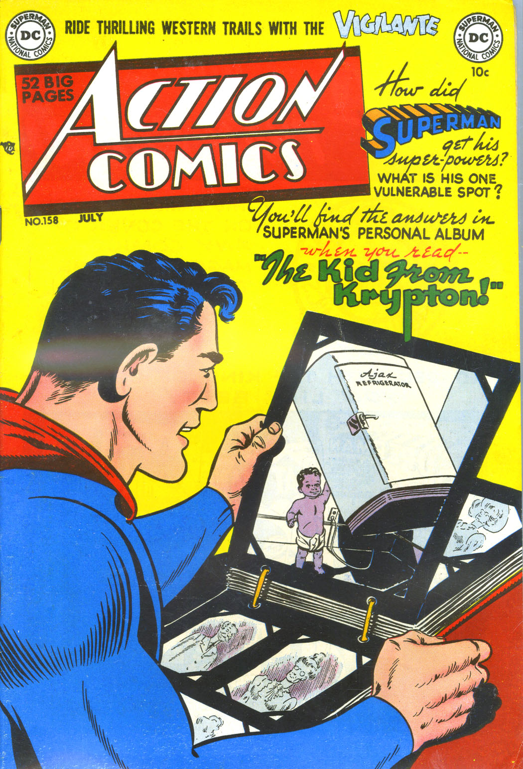 Read online Action Comics (1938) comic -  Issue #158 - 1