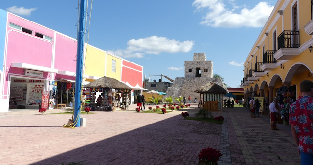 Cozumel - Shops nahe International Pier