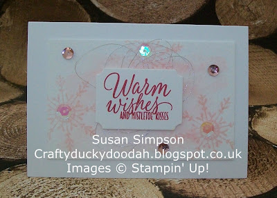 Stampin' Up! UK Independent Demonstrator Susan Simpson, Craftyduckydoodah!, Tin of Tags, Supplies available 24/7,
