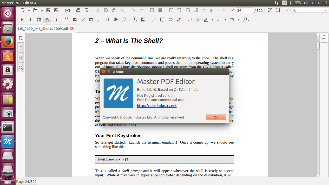 How to install program on Ubuntu: How to Install Master PDF Editor 4.0.10 on Ubuntu 16.04, 16.10