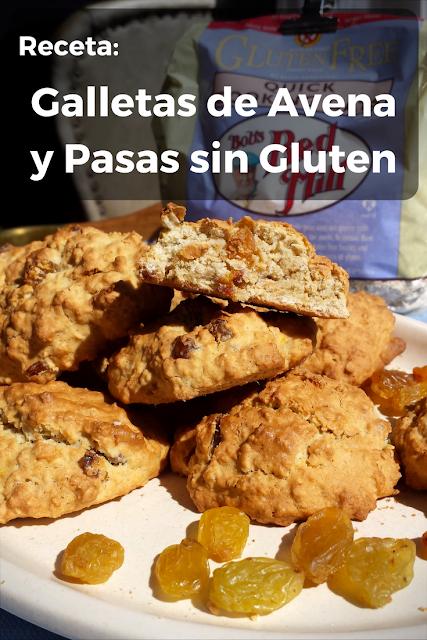 Cómo hacer Galletas de Avena y Pasas libres de Gluten y de Lácteos