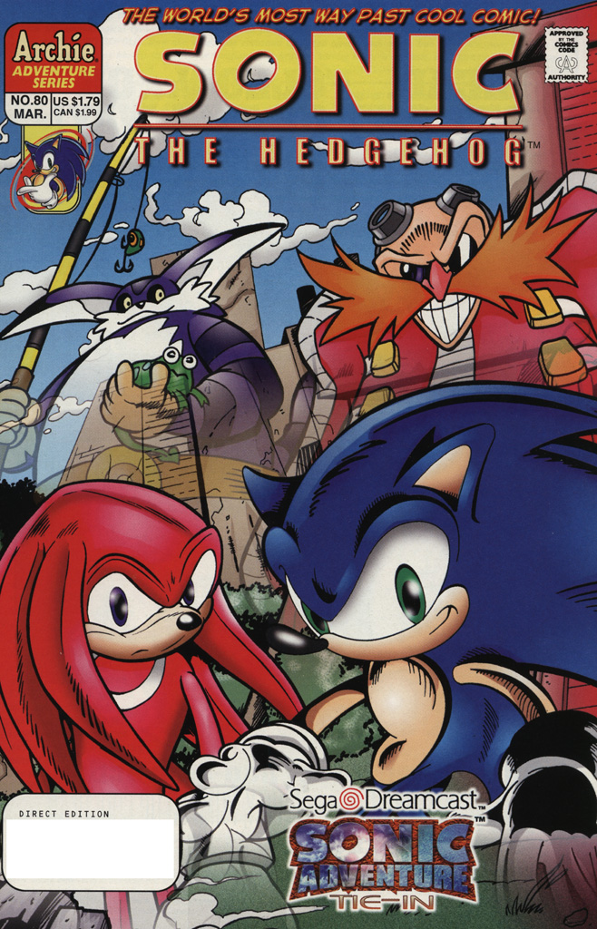 Hedgehogs Can T Swim Sonic The Hedgehog Issue 80
