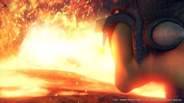 ドラクエ11 ドラゴン 炎