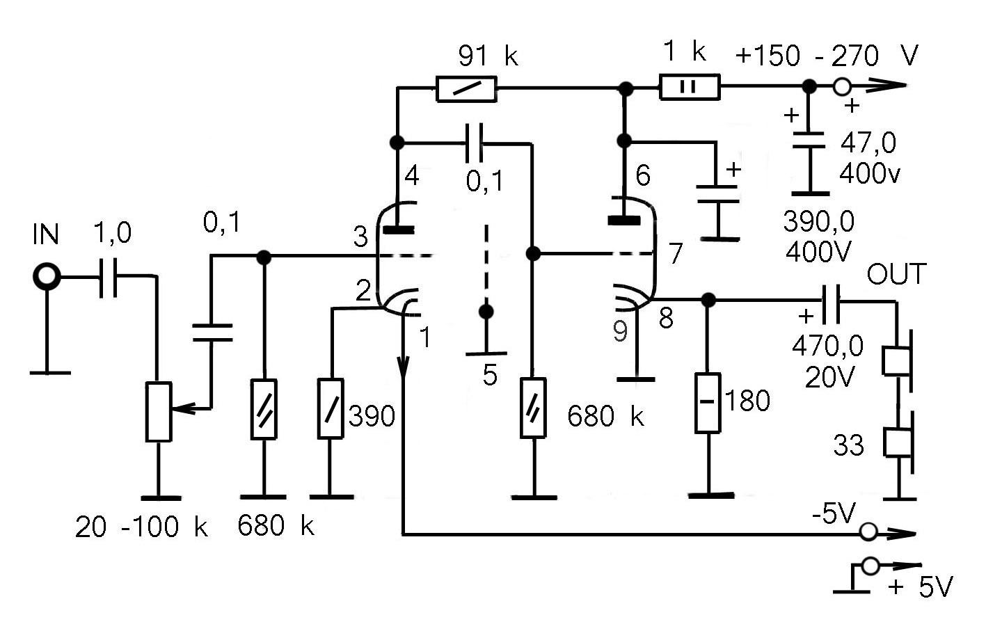 Ламповый усилитель без выходного трансформатора своими руками фото 432
