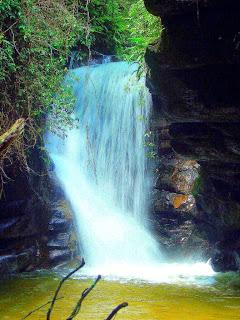 Cachoeira das Andorinhas, Sana