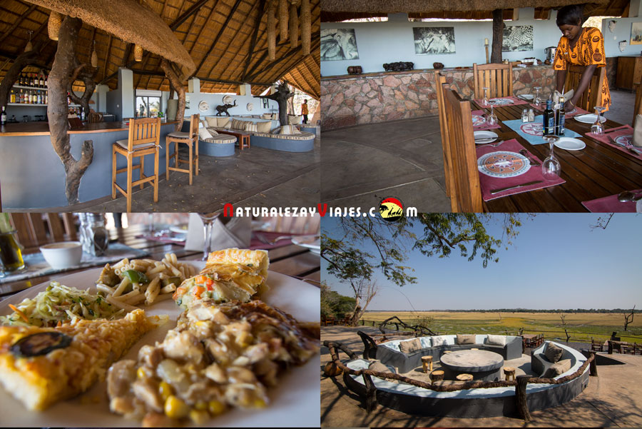 Kafunta Lodge en South Luangwa, Zambia