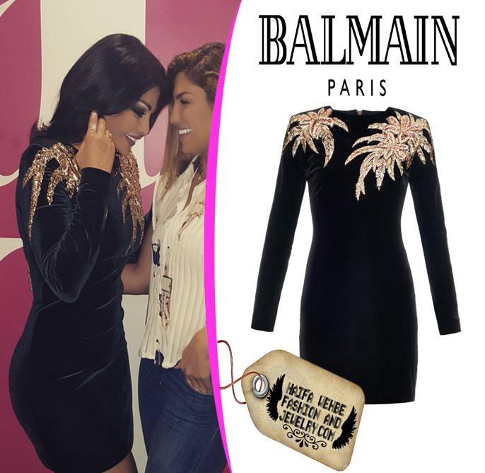 Haifa Wehbe Fashion And Jewelry October 2015