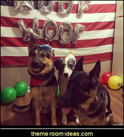 dog birthday party kit