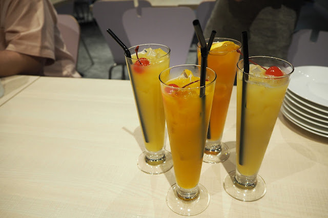 the wicked garlic fruit juice drinks singapore orchard cineleisure