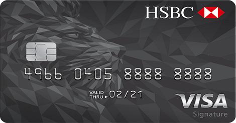 Kartu Platinum HSBC