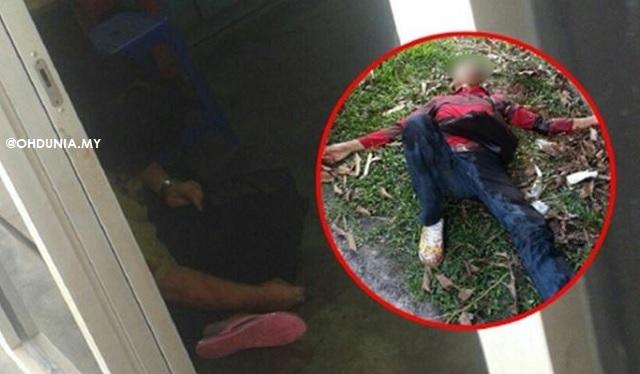 Suspek Parah Nahas Selepas Samun Dan Bunuh Warga Emas