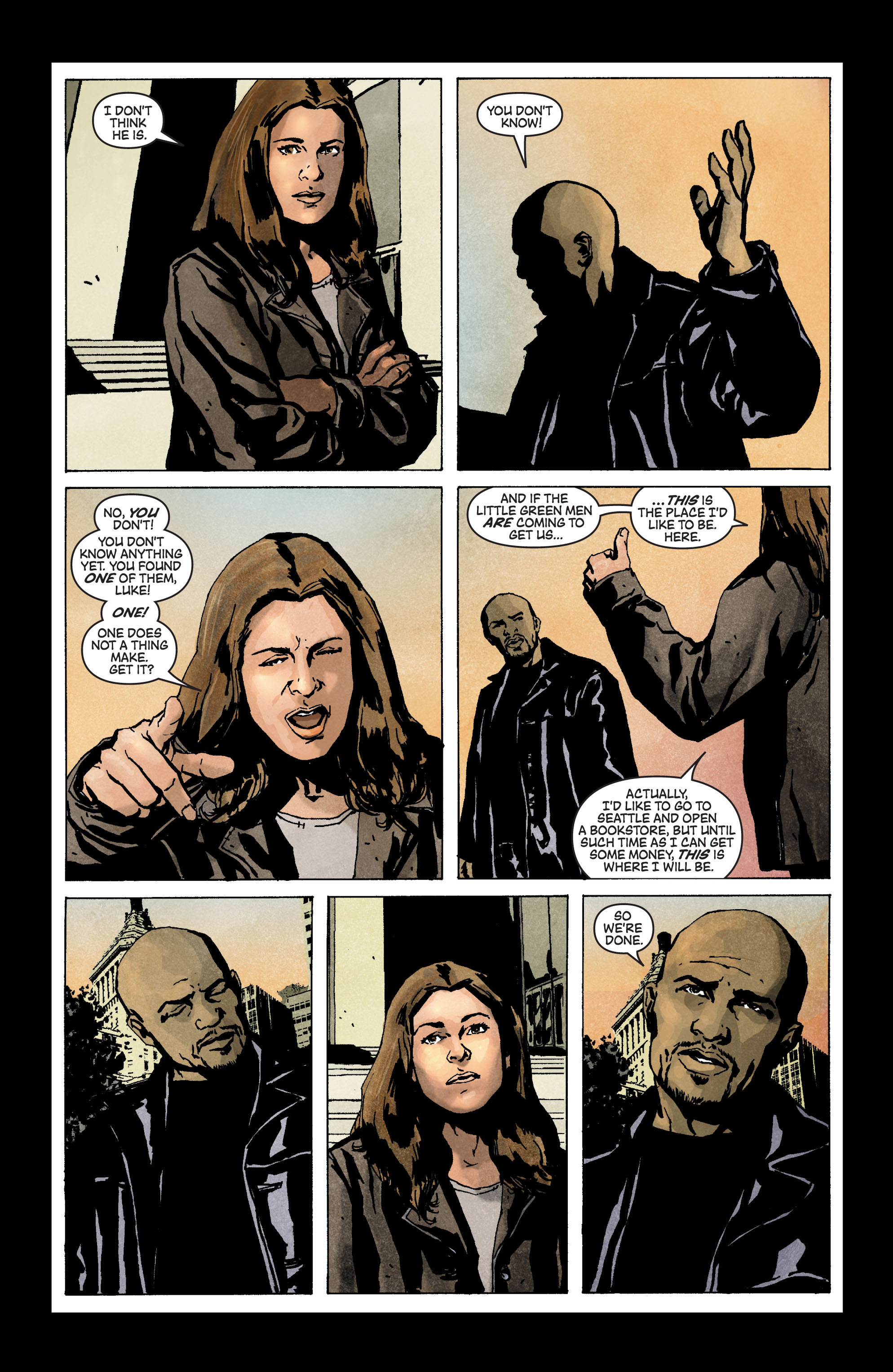 Read online Secret Invasion: The Infiltration comic -  Issue #3 - 11