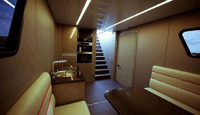 The Best Feature Of Futuria Is Garage Inside Motorhome For Your Supercar Can You Say Lifestyle Rich And Famous