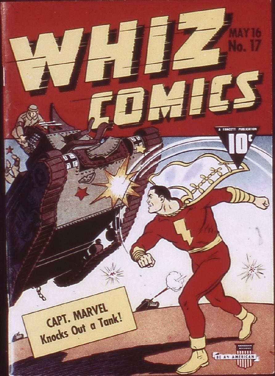 WHIZ Comics 17 Page 1