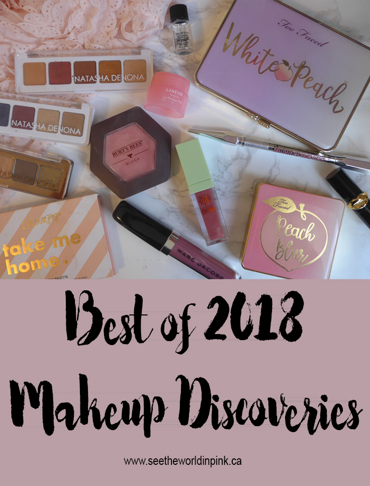 Best of 2018 - Makeup Discoveries!