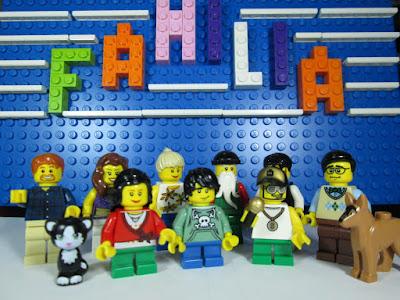 MOC LEGO Dia da Família