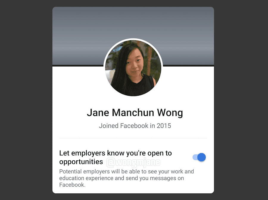 Facebook Jobs will let job hunters link into opportunities, allowing recruiters to come across your resume and send you messages