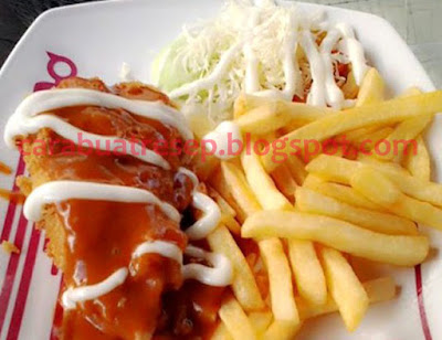 Foto Resep Chicken Mozarella Solaria Sederhana Spesial Asli Enak