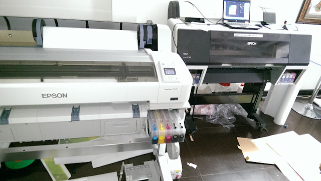 How to convert normal inkjet printer to sublimation printer?