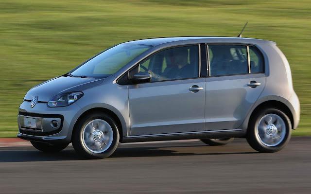 Volkswagen Up! - vice-líder entre os sub-compactos na América Latina