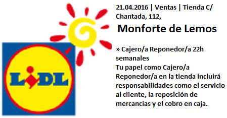 Lanzadera de Empleo Virtual Lugo, Ldl Monforte de Lemos
