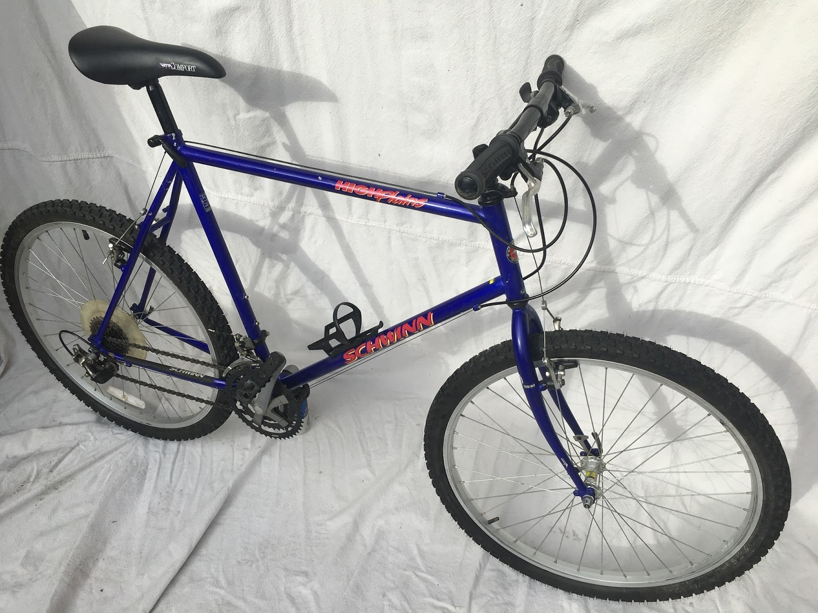 9de217a5ed4 1993 Schwinn High Plains Mountain Bike Blue 23