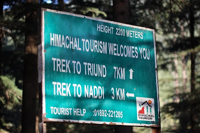 Trek to Triund, Dharamsala