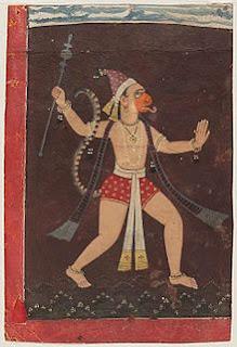 The Office of Security Meet The Nine: Strange Things Part I  Hanuman
