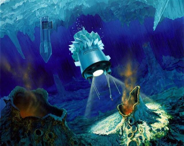 Sonda movida a energia nuclear explorando oceanos escondidos de Europa