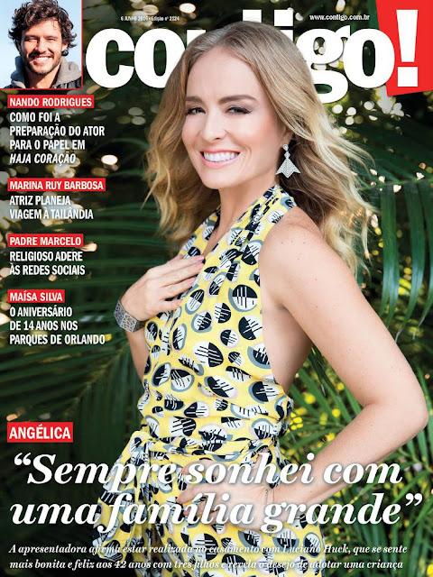 Television Presenter, Actress, Singer, @ Angélica - Contigo Brazil, June 2016