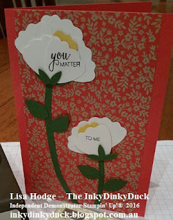 Affectionately Yours DSP Bunch Of Blossoms Stampin Up