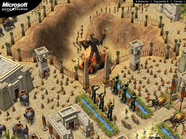 Capturas Age Of Mythology PC Full Español