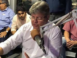 """João Azevedo: """"Precisamos de alguém para dar um upgrade na chapa"""""""